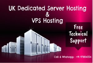 UK Dedicated Server Hosting and VPS Hosting Plans